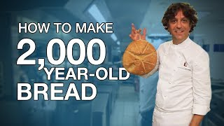 Download How to make 2,000-year-old-bread Video