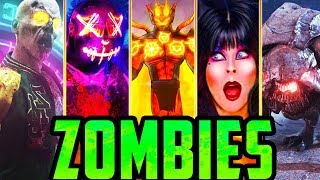 Download ALL IW ZOMBIES EASTER EGGS!! (Call of Duty: Zombies) Video