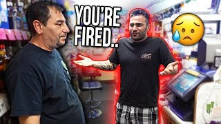 Download FIRING MY BROTHER FROM WORK PRANK!!(he was pissed) Video