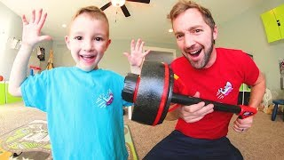 Download Father & Son Get TORNADO CANON! / Flies Up To 100 Feet! Video