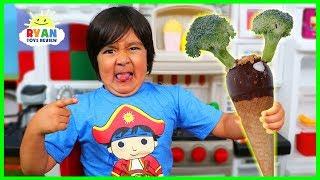 Download Do You Like Broccoli Ice Cream Song ?? Kids Nursery Rhymes with Ryan! Video