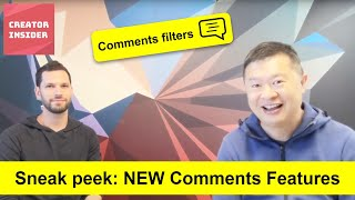 Download Sneak Peek: NEW Comments Features! Video