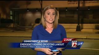 Download Emergency Hearing On Voting Lawsuit Video