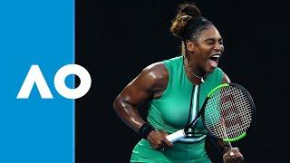 Download Final game: Serena Williams defeats Simona Halep (4R) | Australian Open 2019 Video