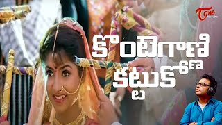 Gentleman Telugu Movie Songs , Kontegaadni Kattuko Video Song , Arjun , Madhubala