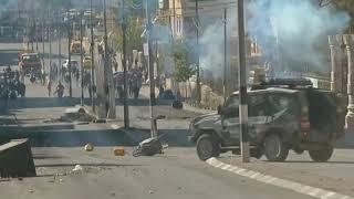 Download Clashes erupt in Bethlehem over Donald Trump's Jerusalem move Video