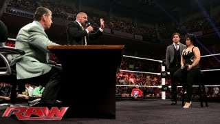 Download Stephanie McMahon fires Vickie Guerrero; Mr. McMahon appoints Brad Maddox the new Raw GM: Raw, July Video