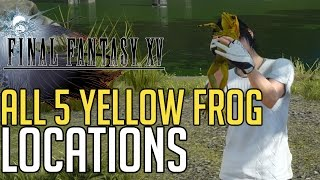 Download Final Fantasy XV ALL 5 YELLOW FROG LOCATIONS (A PROFESSOR'S PROTEGE - YELLOW FROGS GUIDE) Video