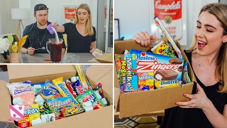 Download British People Trying American Candy - This With Them Video