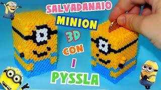 Download Tutorial Salvadanaio MINION con i PYSSLA 3D    Iolanda Sweets Video