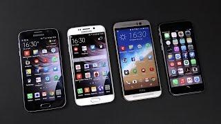 Download Samsung Galaxy S6 vs S6 Edge vs HTC One M9 vs iPhone 6: Benchmark | SwagTab Video