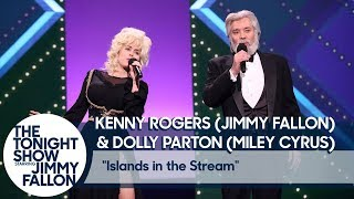 Download Jimmy Fallon and Miley Cyrus Recreate Kenny Rogers and Dolly Parton's ″Islands in the Stream″ Video