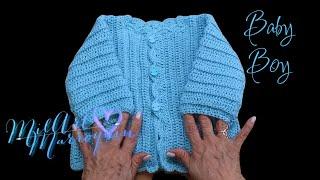 Download Suéter para Bebe 6 meses Crochet Video