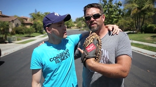 Download Playing catch with Heath Bell Video