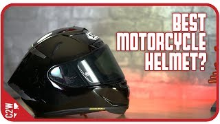 Download Best motorcycle helmet I have EVER WORN!! [First Fit - Shoei X-14] Video