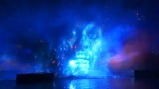 Download NEW Fantasmic! ″Pirates of the Caribbean″ scene at Disneyland 2017 Video