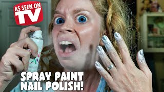 Download SPRAY PAINT NAIL POLISH- DOES THIS THING REALLY WORK? Video