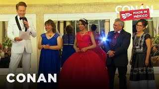 Download Conan Becomes A Quinceañera's Padrino Video