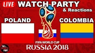 Download Poland vs Colombia World Cup   Live Watch Party & Reactions Video