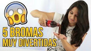 Download 5 BROMAS muy divertidas para NIÑOS ¡BROMAS FÁCILES! Video