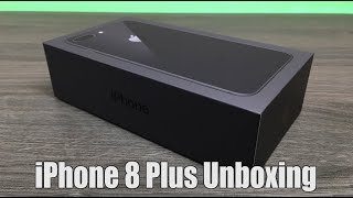 Download iPhone 8 Plus Space Grey Unboxing & Setup Video