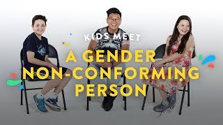 Download Kids Meet a Gender Non-Conforming Person | Kids Meet | HiHo Kids Video