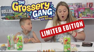 Download Grossery Gang LIMITED EDITION! Surprise Blind Bags By Moose Toys Video