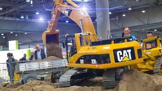 Download MEGA RC MODEL CONSTRUCTION SITE ACTION *RC TRUCKS*RC EXCAVATOR*SCANIA*MAN*MB ACTROS Video