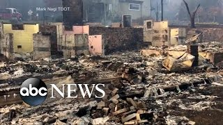 Download TN Wildfires Cause Terror and Devastation Video