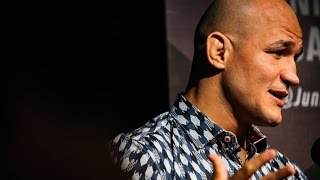 Download Junior Dos Santos talks McGregor/Mayweather, Anthony Joshua, Title Shot at 211 Video