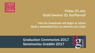 Download Cardiff University Graduation Ceremony 21 July 2017 Video