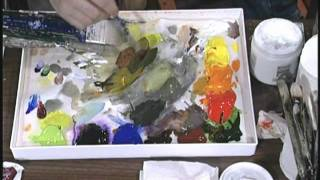 Download Jerry Yarnell teaches color mixing w/color wheel (29 min episode) Video