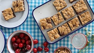 Download Chocolate-Chip with Streusel Brownies- Sweet Talk with Lindsay Strand Video