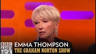 Download Emma Thompson Almost Died In a Mosh Pit - The Graham Norton Show Video