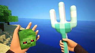 Download Realistic Sky Block Survival - Minecraft Animation Video
