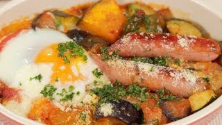 Download Ratatouille and Toasted Breakfast Ratatouille Recipe | Cooking with Dog Video