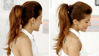 Download Ponytail Trick: How To Add Volume To Your Ponytail | Quick And Easy Hairstyles Video
