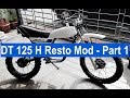Download **** Yamaha DT125 H (MX) 1981 - Resto Mod - Part 1 **** Video