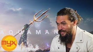 Download 'Aquaman' Star JASON MOMOA Shares Why He Doesn't Want To Cut His Hair Video