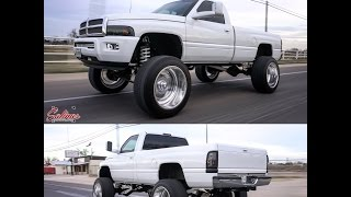 Download Second gen RAM with Big engine mods, Big wheels and a Big lift kit. Video