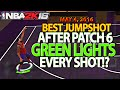 Download NBA 2K16 BEST JUMPSHOT AFTER PATCH 6 GREEN RELEASE EVERYTIME Video