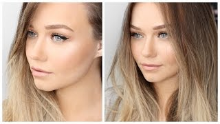 Download Natural, Bronzed, Glowing Makeup for Spring W/ Flawless Foundation | Victoria's Secret Inspired Video