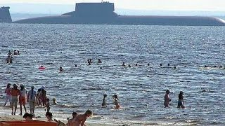 Download MEGA SUB! World's BIGGEST SUBMARINE ever constructed! (Soviet Typhoon/Akula Class Submarine.) Video