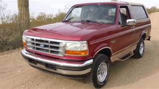 Download 1995 ford bronco eddie bauer 68k miles Video