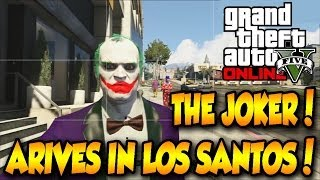 Download GTA 5 THE JOKER IN LOS SANTOS MOD!! DOWNLOAD FOR PS3/XBOX360! Video