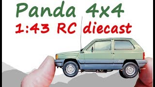 Download Micro RC 1:43 Panda 4X4 Diecast conversion Video