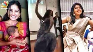 Download Jimikki Kammal Tamil Heroines Style : Deivamagal Sathya, Aishwarya Rajesh Performance | Vani Bhojan Video