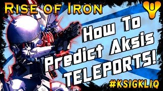 Download Destiny How to Predict Aksis Teleports Wrath of the Machine Guide Video
