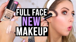 Download FULL FACE Trying NEW Makeup! || Drugstore & Sephora Try-On Video