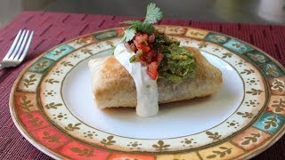 Download Chicken Mushroom Chimichanga - How to Make a Chimichanga (Oven Fried Burrito) Video